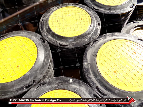 Composite manhole covers, composite cover, manhole cover, of matin technical design company